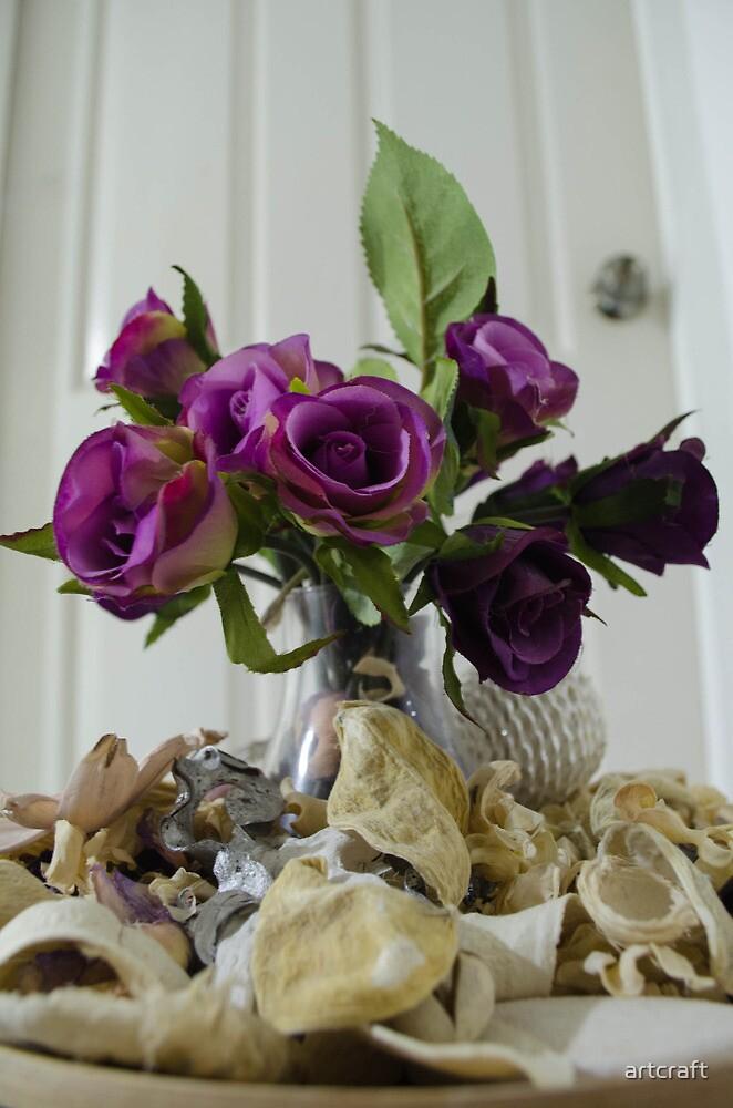 Flowers at Doorstep ! by artcraft