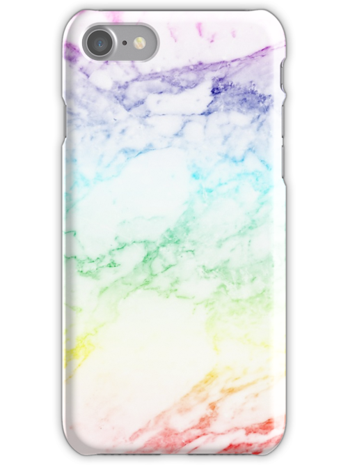 Quot Rainbow Marble Quot Iphone Cases Amp Skins By Sofiedahlberg