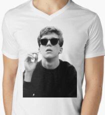 Black and White Brian Breakfast Club Men's V-Neck T-Shirt