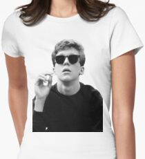 Black and White Brian Breakfast Club Tailliertes T-Shirt