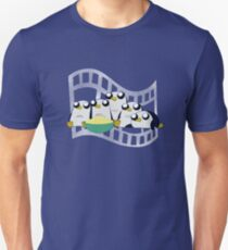 Movie Night for Penguins  T-Shirt