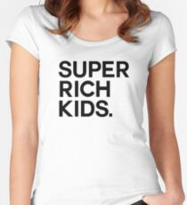 Super Rich Kids Women's Fitted Scoop T-Shirt