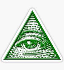 All Seeing Eye - Small logo Sticker