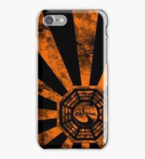 Dharma logo-Lost iPhone Case/Skin
