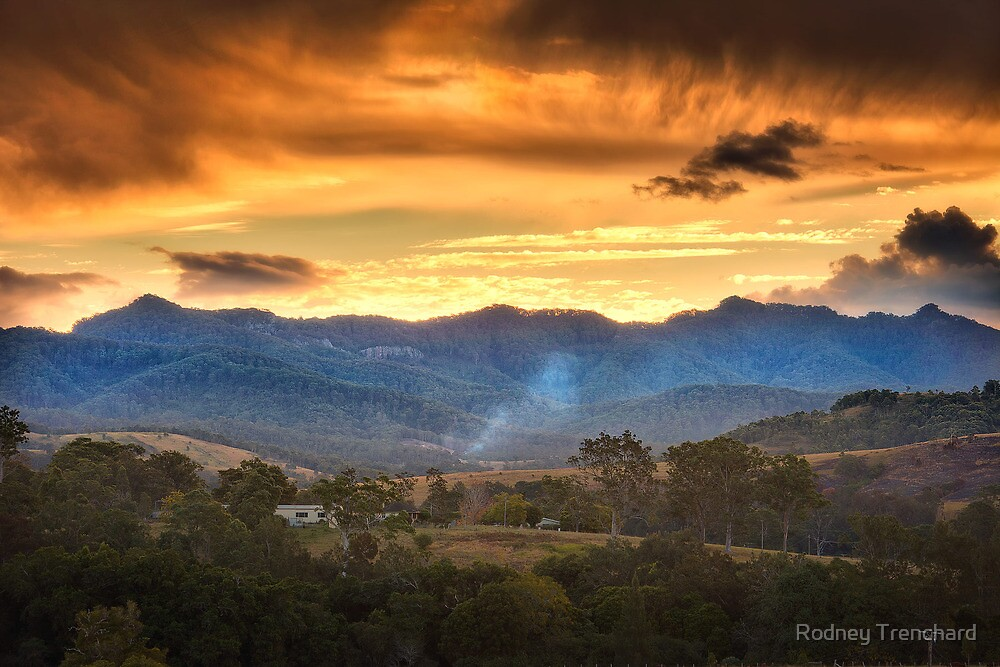 The Valley Of The Shadow Of Death by Rodney Trenchard