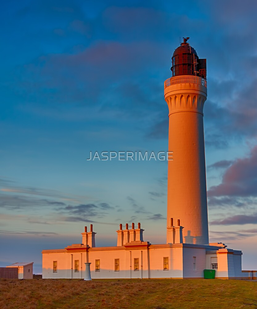 COVESEA THE LIGHTHOUSE AT SUNSET by JASPERIMAGE