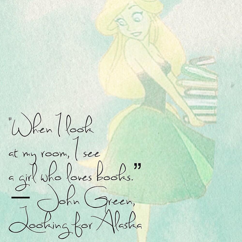 Girl who loves books by Bailar