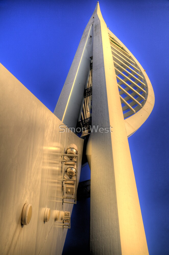 Spinnaker Tower Portsmouth by Simon West