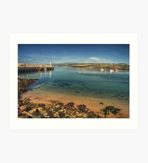 Peel Bay on a Summer's Day Art Print
