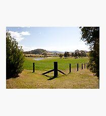 Rural View outside Gresford, NSW Australia Photographic Print