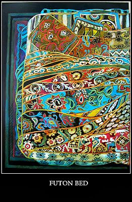 FUTON  by Linda Arthurs