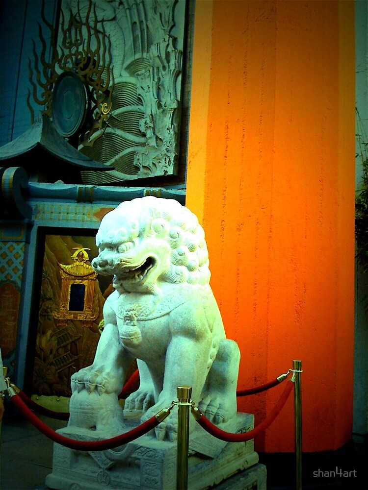 Grauman's Chinese Theatre - Hollywood Views by shan4art