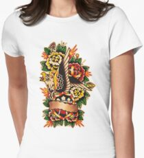 Spitshading 051 Women's Fitted T-Shirt