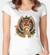 Spitshading 053 Women's Fitted Scoop T-Shirt