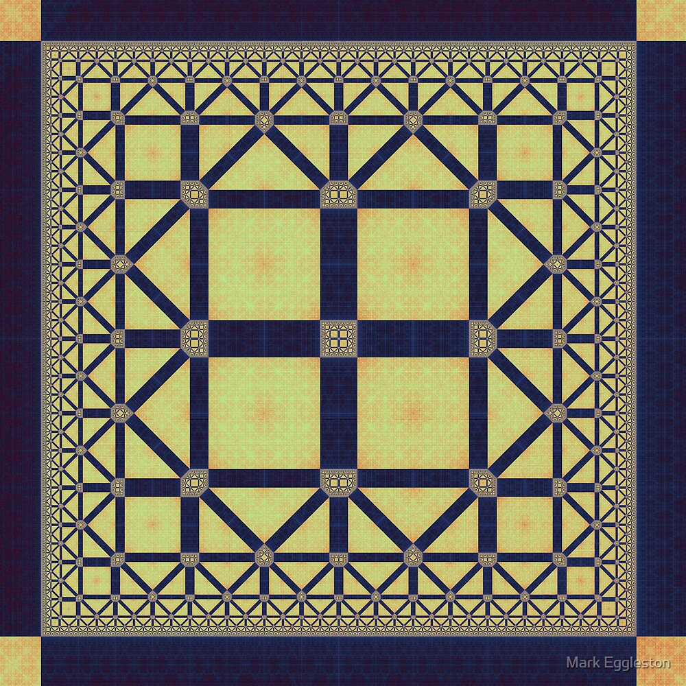 Squares and Triangles by Mark Eggleston