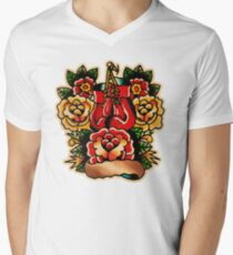 Spitshading 056 Men's V-Neck T-Shirt