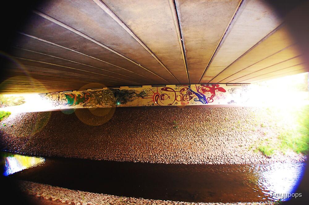 Underpass Art by Amyypops