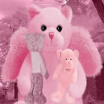 ❀◕‿◕❀HUGS,A KISS AND AFFECTION FROM A BEARY SPECIAL ANGEL CARD/PICTURE❀◕‿◕❀ by Rapture777