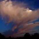 Clouds on my way to work, Traverse City, MI by F.  Kevin  Wynkoop