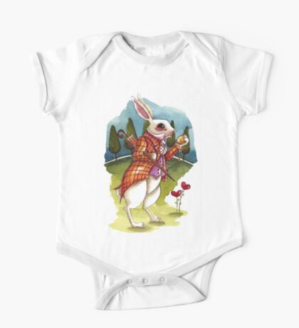 The White Rabbit - Being late Kids Clothes