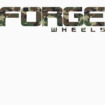 FORGE Wheels Camo Print by FORGEWHEELS