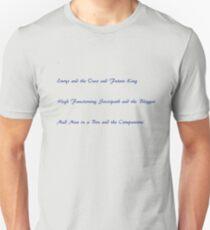 Merlin, Sherlock, and Doctor Who T-Shirt