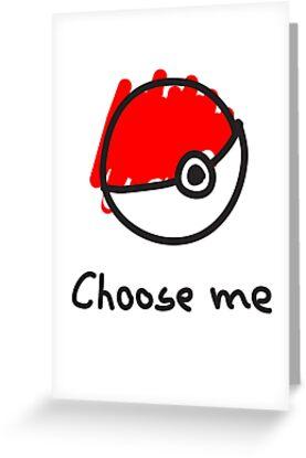 Choose me by lomm