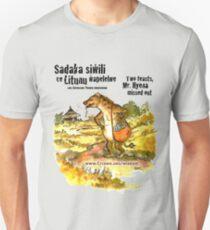 Mr. Hyena, Two Sadakas - black text Unisex T-Shirt