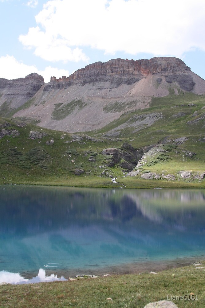 Ice Lake Reflections by Liane6161