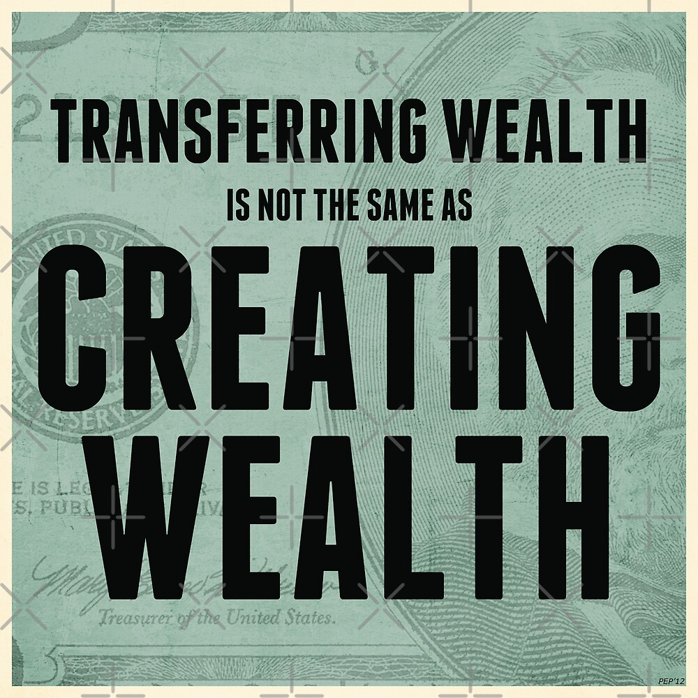 Creating Wealth by morningdance