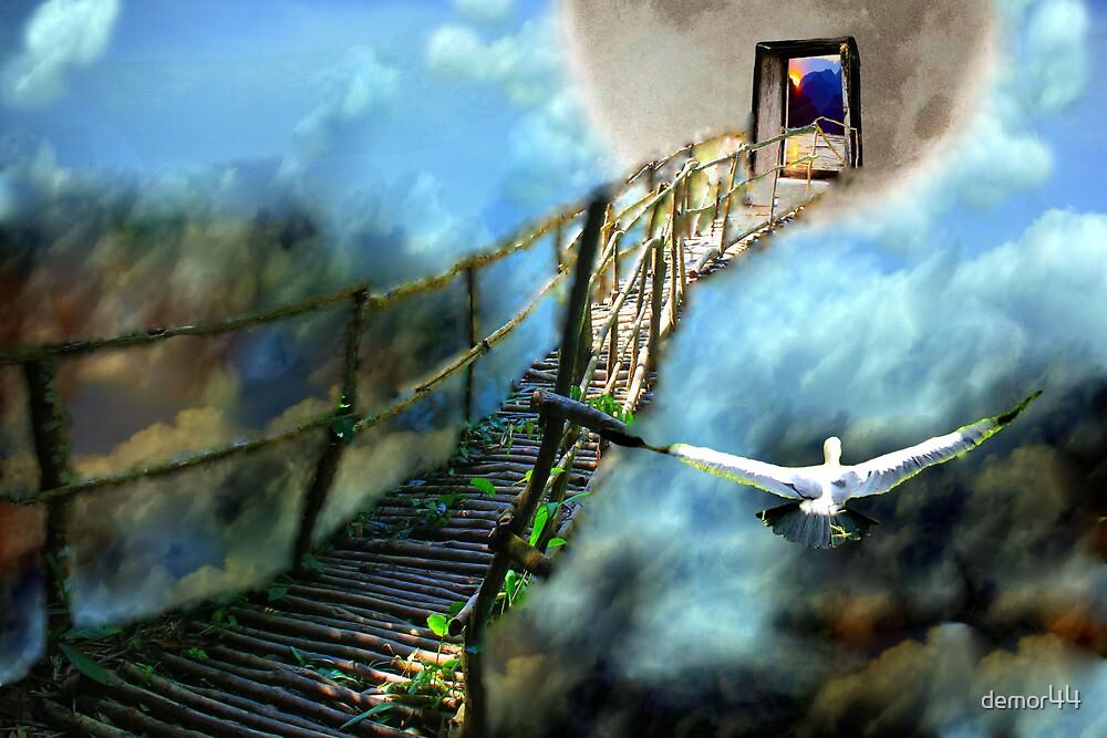 bridge to moon by demor44