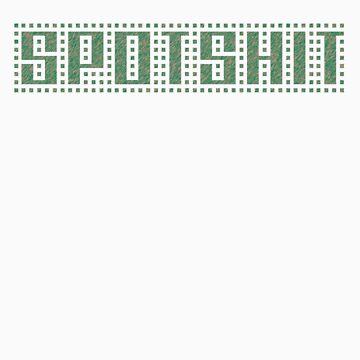 Spotshit T-Shirt by toshibac600