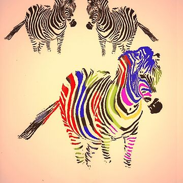 the lonely zebra  by ralphyboy