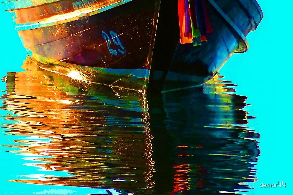 boat in sea by demor44