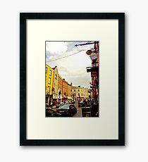 Cork City Street Scene 001  Framed Print