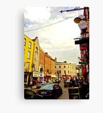 Cork City Street Scene 001  Canvas Print