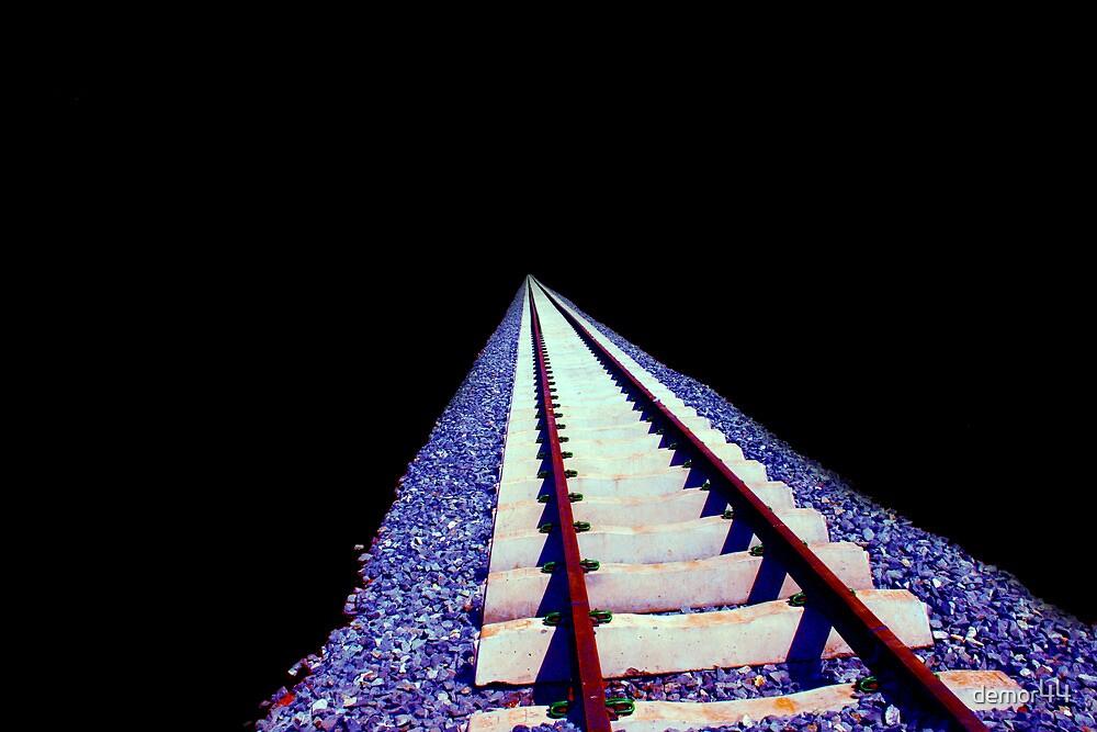 train tracks by demor44