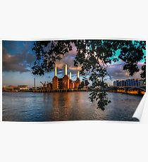 Before Sunset - Battersea power station Poster