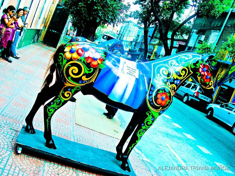 Horse picturesque. by ALEJANDRA TRIANA MUÑOZ