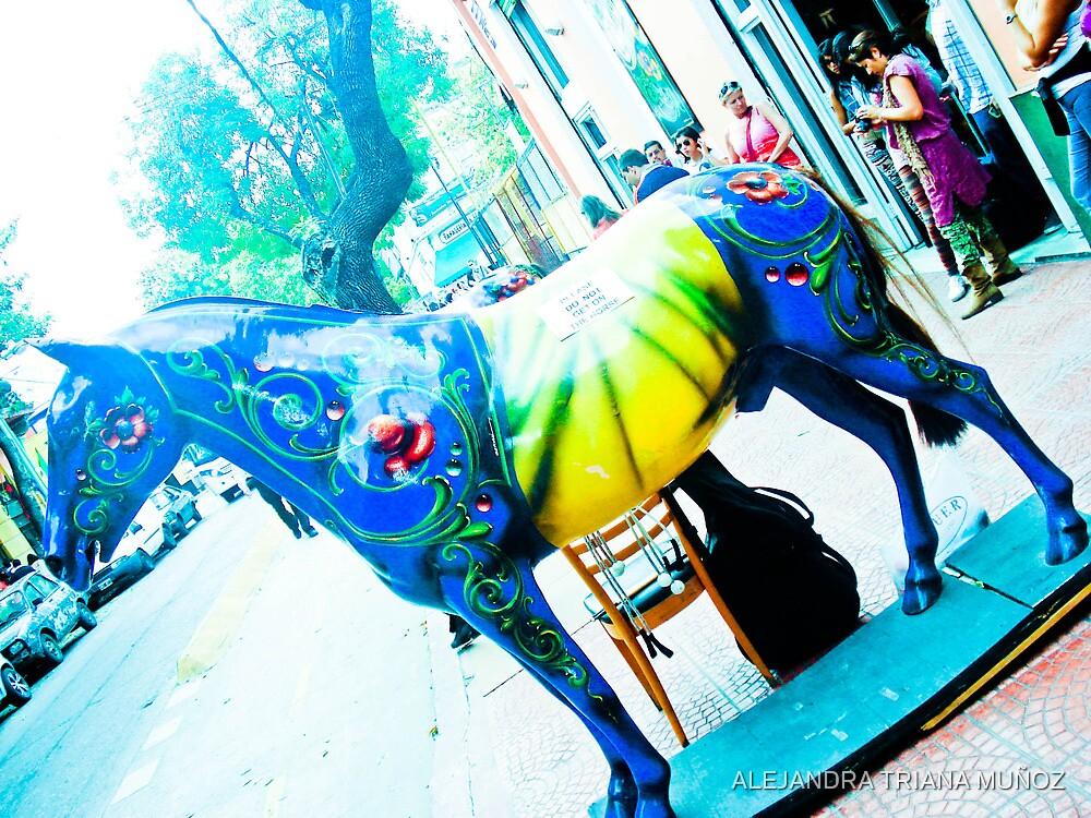 Horse picturesque 2. by ALEJANDRA TRIANA MUÑOZ