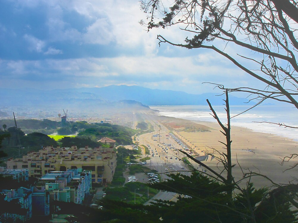 Ocean Beach and Beyond by David Denny