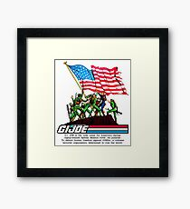 G.I. Joe 1982 - Stars and Stripes Forever Framed Print