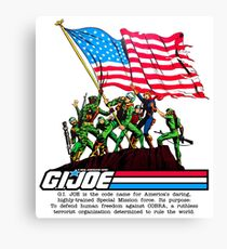 G.I. Joe 1982 - Stars and Stripes Forever Canvas Print