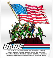 G.I. Joe 1982 - Stars and Stripes Forever Poster