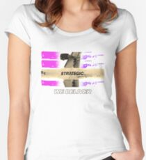 we deliver Women's Fitted Scoop T-Shirt