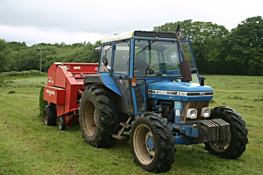 Making Silage in Wales by fordlltwm