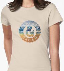 Beaches & Cream Women's Fitted T-Shirt