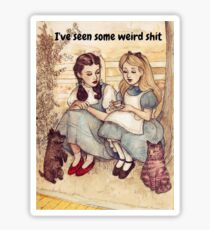 Dorothy and Alice Sticker