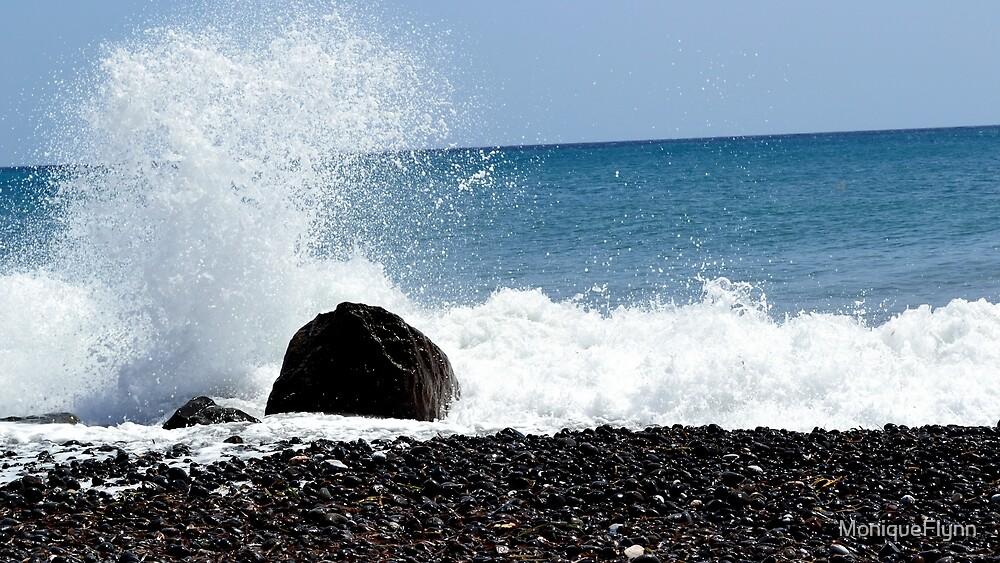 Splashing Rocks by MoniqueFlynn