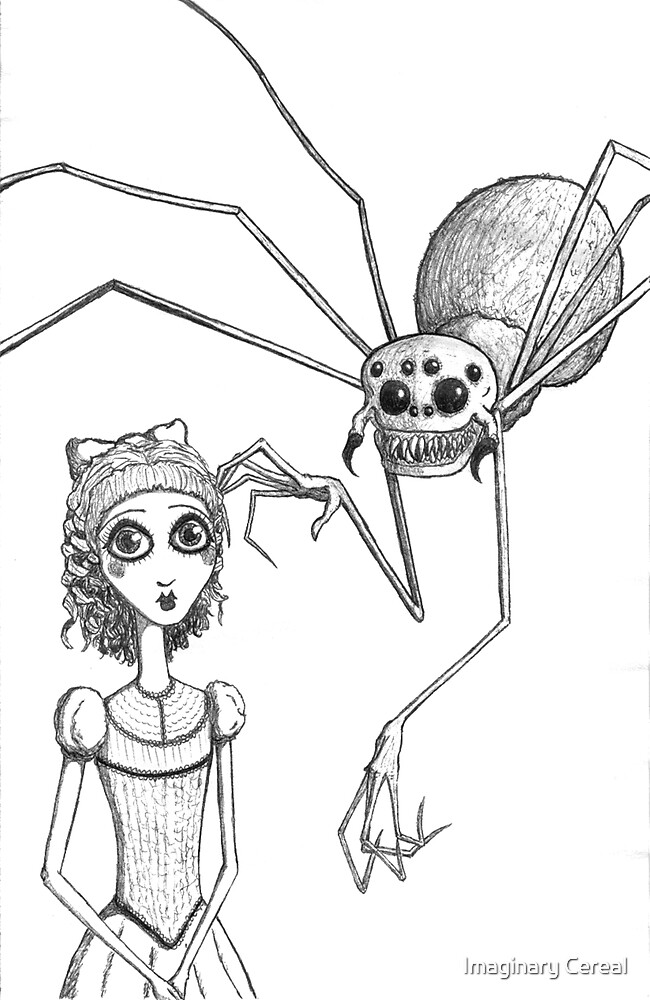 Miss Muffet by Imaginary Cereal